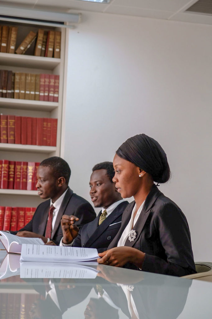 A cross-section of some of the lawyers at Ogunsanya & Ogunsanya